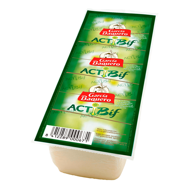 Queso Actibif Barra 2,8Kg