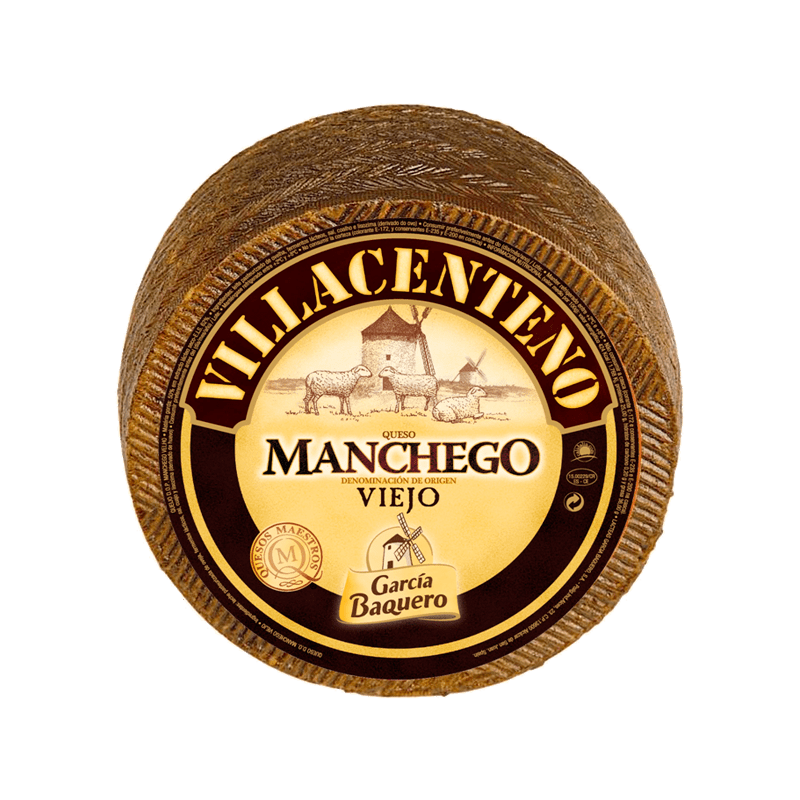 Queso de Oveja DOP Manchego Villacenteno Viejo 3Kg