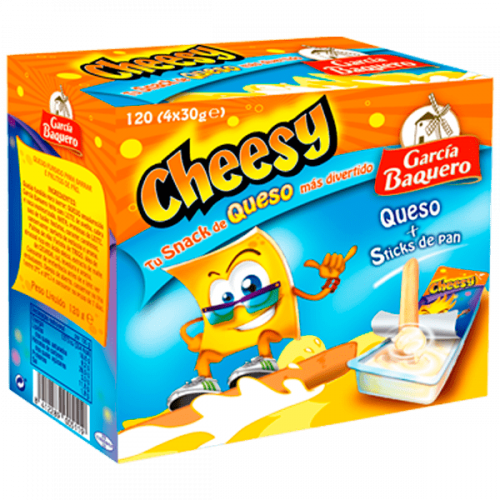 Queso Cheesy Infantil 120gr
