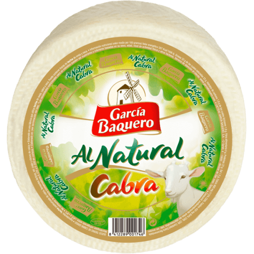 Queso Al Natural Cabra 3Kg