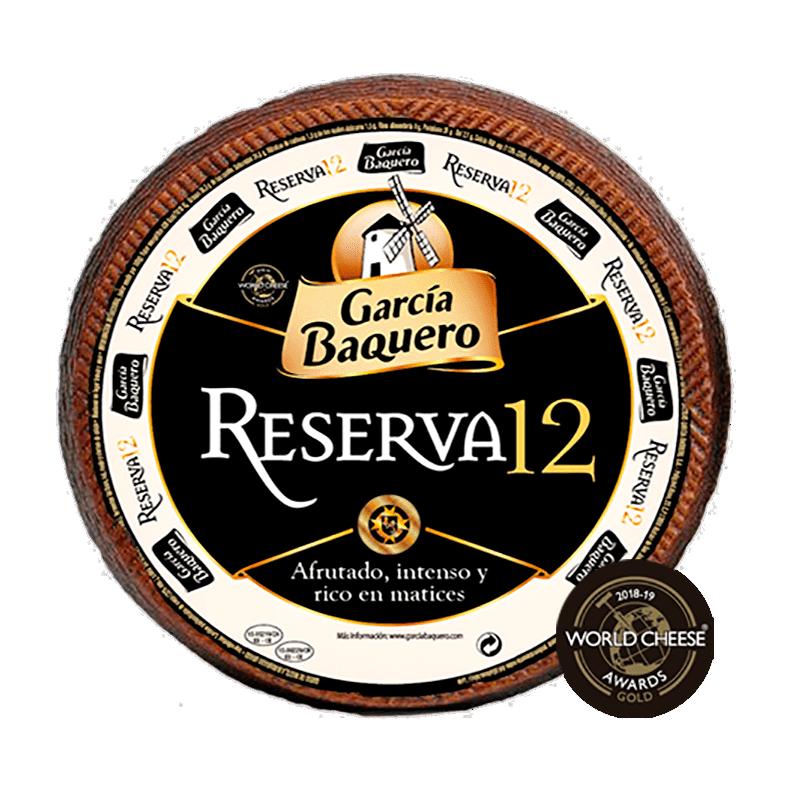 Queso Añejo Reserva 12 Pieza 3Kg García Baquero