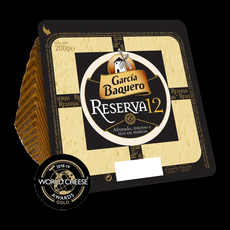 Cuña Queso Reserva 12 200g - Garcia Baquero