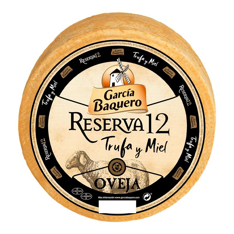 Queso Oveja Reserva 12 Trufa y Miel 3 Kg - Garcia Baquero